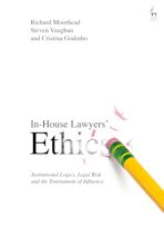 In-House Lawyers' Ethics cover