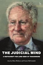 The Judicial Mind cover