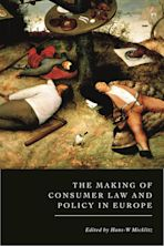 The Making of Consumer Law and Policy in Europe cover
