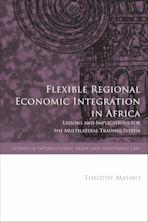 Flexible Regional Economic Integration in Africa cover