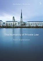The Humanity of Private Law cover