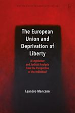 The European Union and Deprivation of Liberty cover