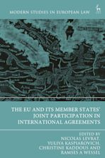 The EU and its Member States' Joint Participation in International Agreements cover