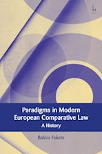 Paradigms in Modern European Comparative Law cover