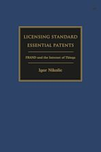 Licensing Standard Essential Patents cover