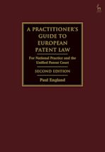 A Practitioner's Guide to European Patent Law cover