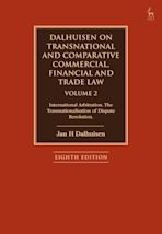 Dalhuisen on Transnational and Comparative Commercial, Financial and Trade Law Volume 2 cover