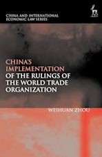 China's Implementation of the Rulings of the World Trade Organization cover