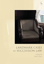 Landmark Cases in Succession Law cover