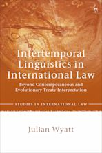 Intertemporal Linguistics in International Law cover