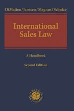 International Sales Law cover