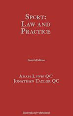 Sport: Law and Practice cover
