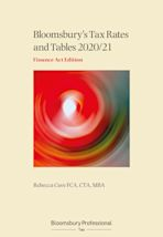 Tax Rates and Tables 2020/21: Finance Act Edition cover