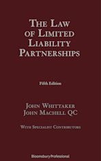 The Law of Limited Liability Partnerships cover