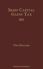 Irish Capital Gains Tax 2021 cover