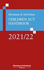 Hershman and McFarlane: Children Act Handbook 2021/22 cover