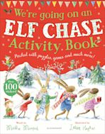 We're Going on an Elf Chase Activity Book cover
