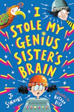 I Stole My Genius Sister's Brain cover