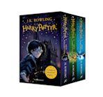 Harry Potter 1–3 Box Set: A Magical Adventure Begins cover