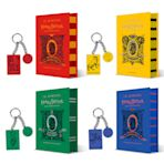 Pre-order offer: Harry Potter and the Half-Blood Prince – Gryffindor, Hufflepuff, Slytherin and Ravenclaw Editions + 4 House Keyrings cover