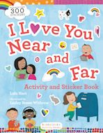I Love You Near and Far Activity and Sticker Book cover