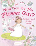 Will You Be My Flower Girl? Activity and Sticker Book cover