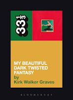 Kanye West's My Beautiful Dark Twisted Fantasy cover