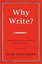 Why Write? cover