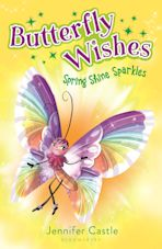 Butterfly Wishes 4: Spring Shine Sparkles cover
