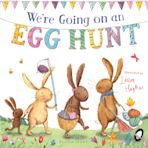 We're Going on an Egg Hunt (padded board book) cover