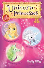 Unicorn Princesses Bind-up Books 1-3 cover
