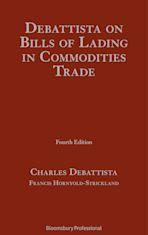 Debattista on Bills of Lading in Commodities Trade cover