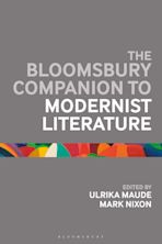 The Bloomsbury Companion to Modernist Literature cover