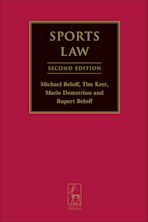 Sports Law cover