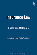 Insurance Law: Cases and Materials cover