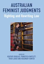 Australian Feminist Judgments cover