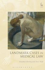 Landmark Cases in Medical Law cover