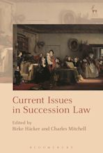 Current Issues in Succession Law cover