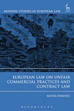 European Law on Unfair Commercial Practices and Contract Law cover