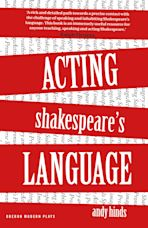 Acting Shakespeare's Language cover