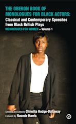 The Oberon Book of Monologues for Black Actors cover