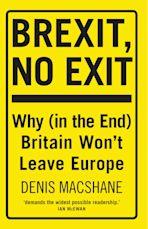 Brexit, No Exit cover
