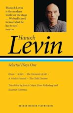 Hanoch Levin: Selected Plays One cover