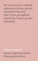 Lesbian Feminism cover