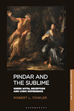 Pindar and the Sublime cover