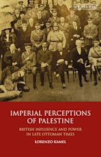 Imperial Perceptions of Palestine cover