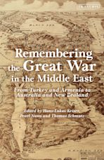 Remembering the Great War in the Middle East cover