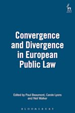 Convergence and Divergence in European Public Law cover