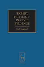 Expert Privilege' in Civil Evidence cover