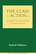 The Class Action in Common Law Legal Systems cover